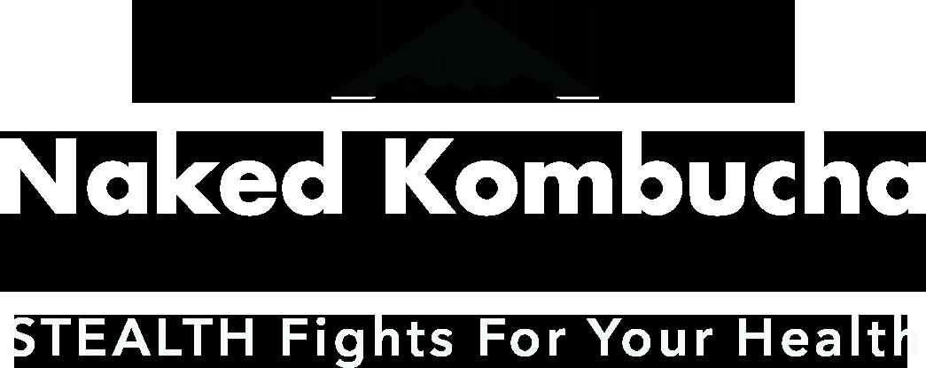 Naked Kombucha Logo Tagline