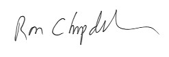 Ron Chapdelaine signature